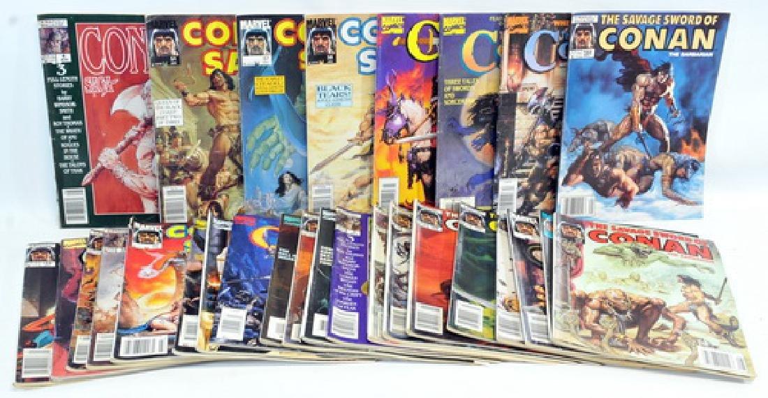 27 Comic Books Of Conan The Barbarian