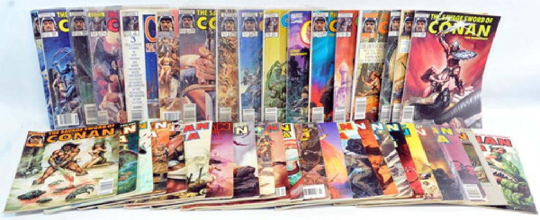 40 Comic Books Of Conan The Barbarian