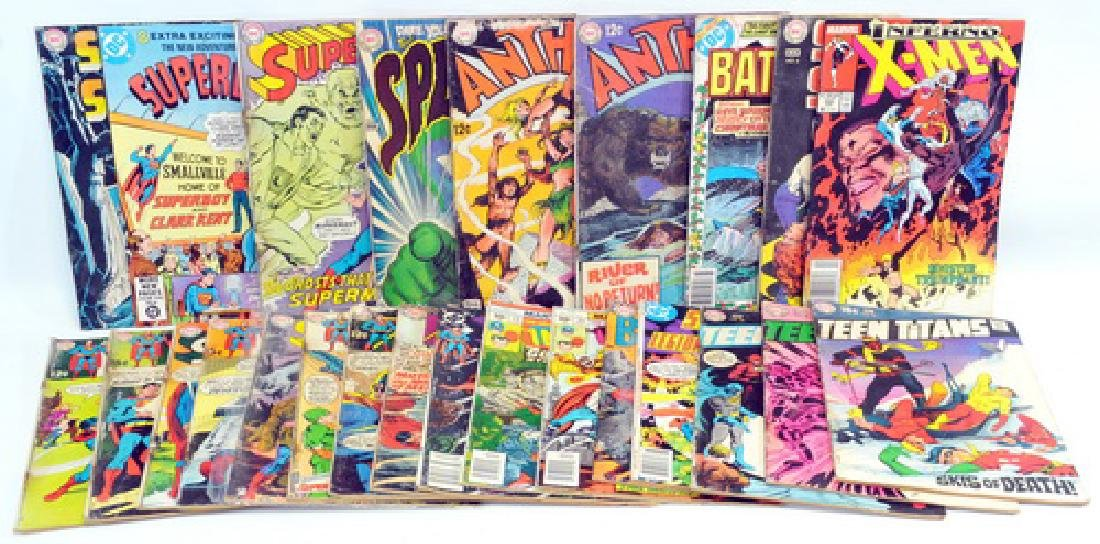 25 Comic Books