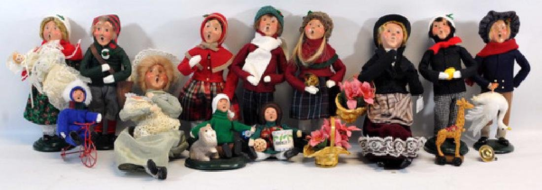 23 Byers Choice Ltd. To Include : Happy Scrooge, - 2