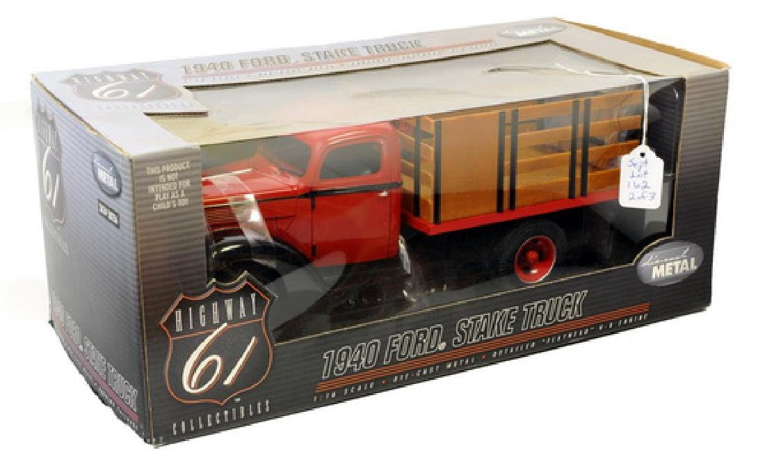 1. Highway 61 1940 Ford Stake Truck, 2. Die Cast - 2
