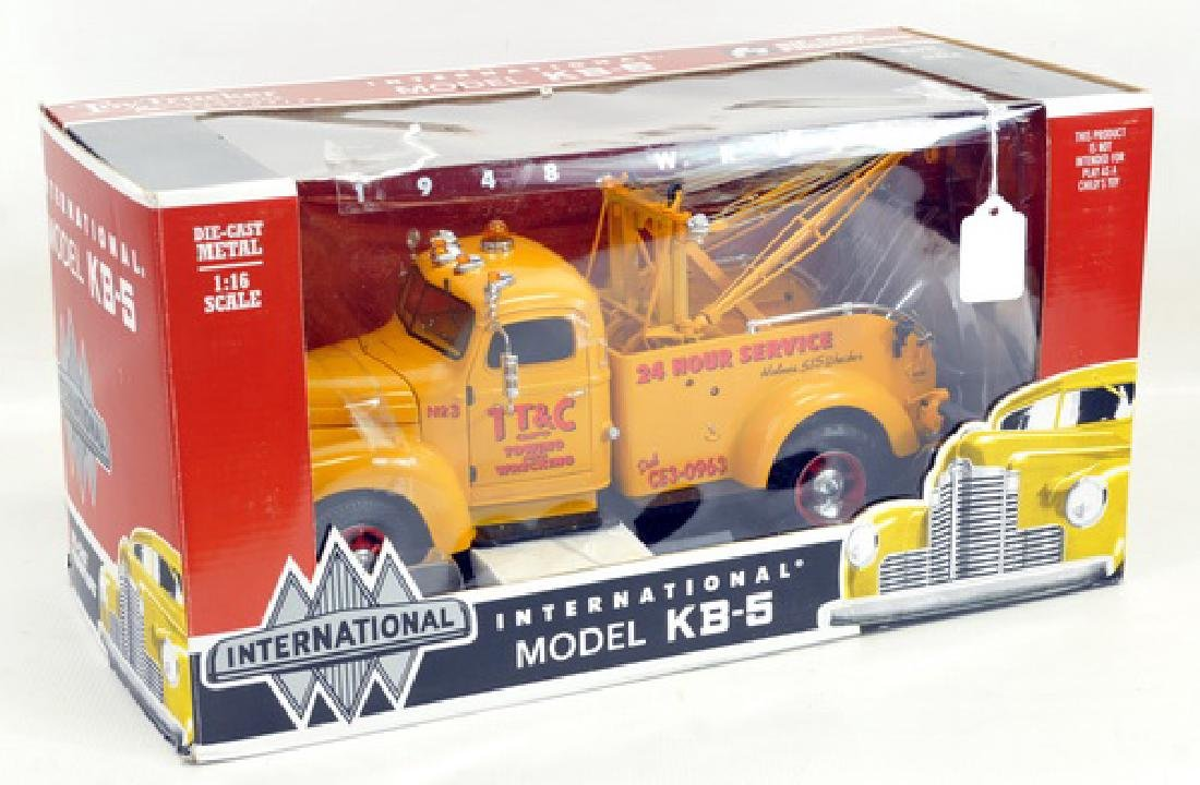 1. Highway 61 1940 Ford Stake Truck, 2. Die Cast - 3