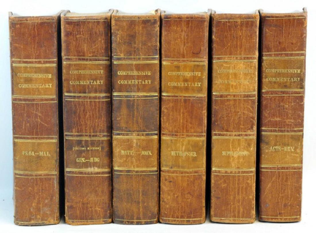 6 Hard Cover Books Comprehensive Commentary