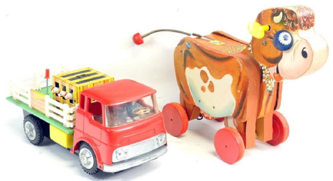 Pair Of Vintage Toys