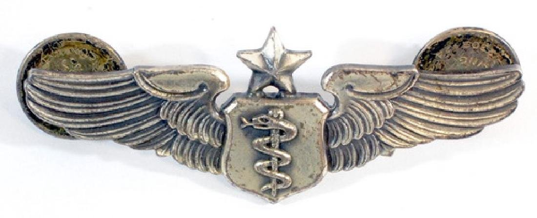 WWII Medical Officer Sterling Pin