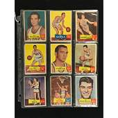 13 1957 Topps Basketball Cards Cousy Rookie