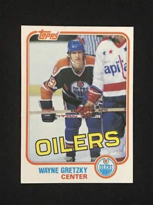 1981 Topps Wayne Gretzky Card Nm-mint