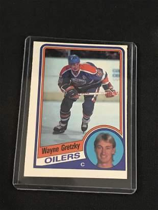 1984-85 Opc Hockey Wayne Gretzky
