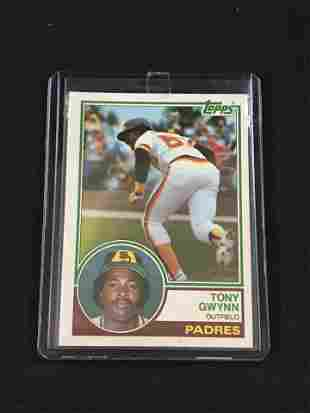 1983 Topps Tony Gwynn Rookie Card
