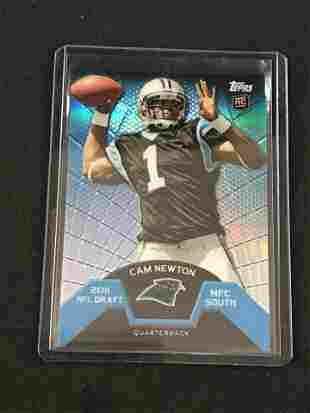 2011 Topps Cam Newton Rookie Card