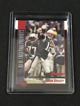 2002 Bowman Tom Brady Card