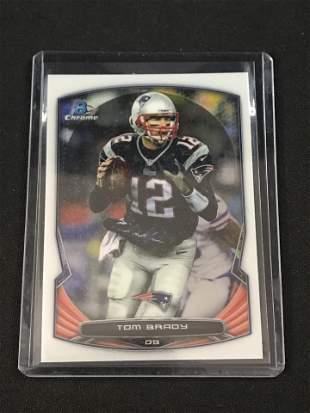 2014 Bowman Chrome Tom Brady Card