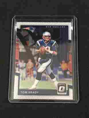 2017 Panini Optic Tom Brady Card