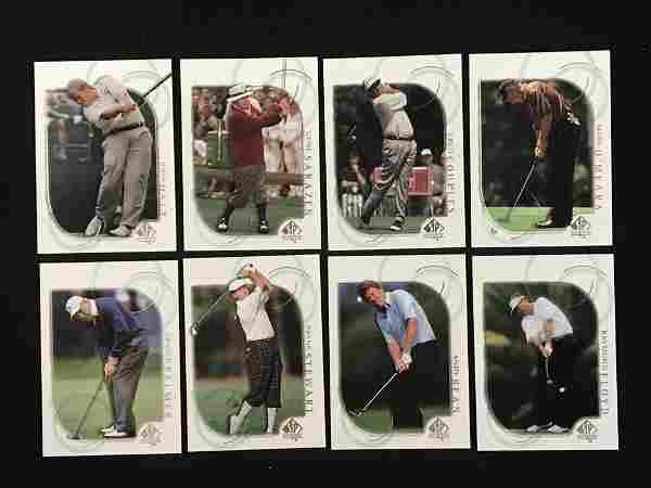 2001 Ud Sp Golf Complete Set