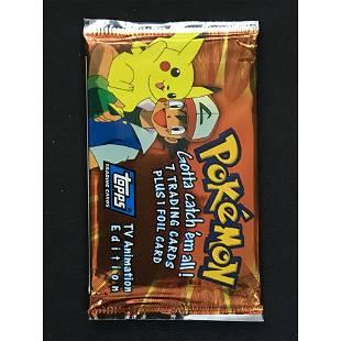 1999 Topps Pokemon Sealed Wax Pack