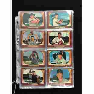 72 1955 Bowman Baseball Cards