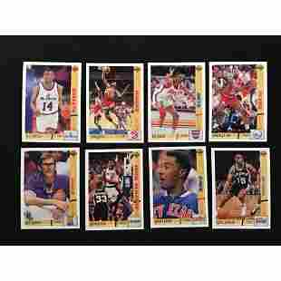 1991-92 Upper Deck Basketball Complete Set