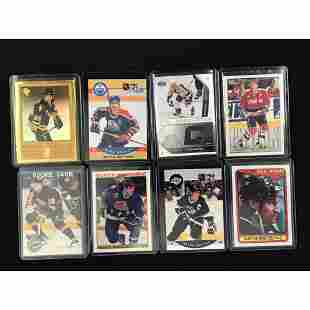 9 Vintage Hockey Cards Stars/hof