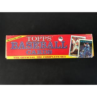 1988 Topps Baseball Factory Set