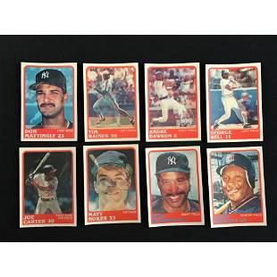 1988 Sport Flics Baseball Complete Set