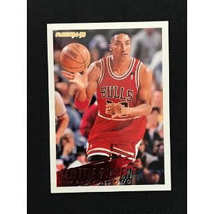 1994-95 Fleer Scottie Pippen Card