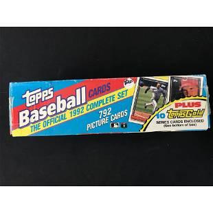 1992 Topps Baseball Factory Set