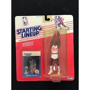 1988 Starting Lineup Michael Jordan With Card
