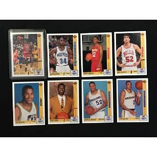 1991-92 Ud Basketball Complete Set