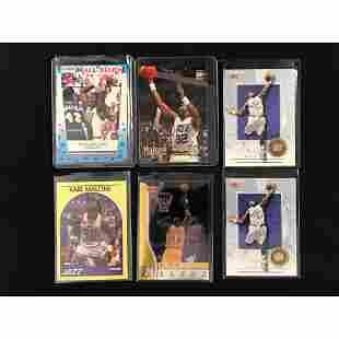 6 Vintage Karl Malone Cards