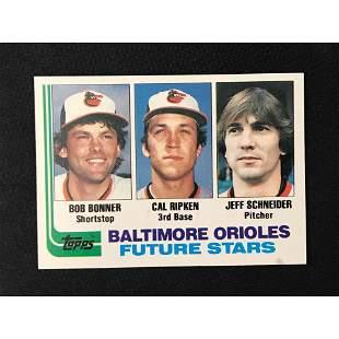 1982 Topps Cal Ripken Jr. Rookie Card
