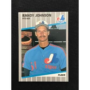 1989 Fleer Randy Johnson Rookie Card