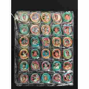 42 1971 Topps Baseball Coins With Hof