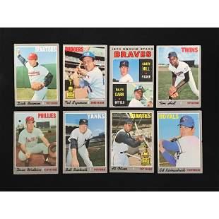 500 1970 Topps Baseball Cards Good-vg