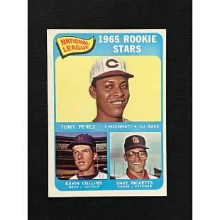 1965 Topps Tony Perez Rookie Card