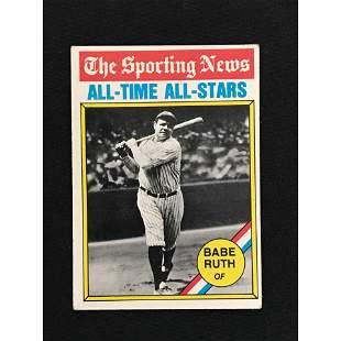 1976 Topps Babe Ruth Card