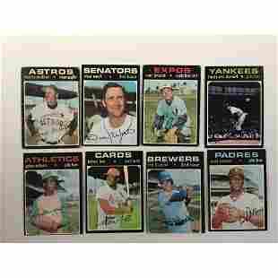 700 1971-1978 Topps Baseball Cards G-vg