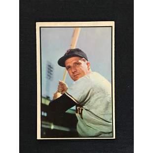 1953 Bowman Color Ralph Kiner Card