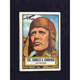 1952 Topps Look N See Charles Lindbergh