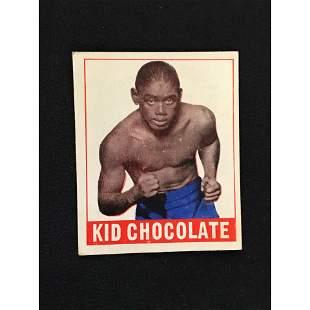 1948 Leaf Boxing Kid Chocolate