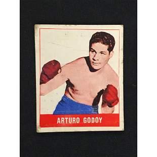 1948 Leaf Boxing Arturo Godoy Card