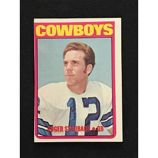 1972 Topps Roger Staubach Rookie Card