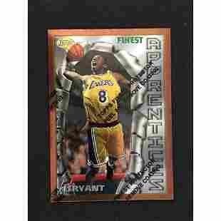 1996 Topps Finest Kobe Bryant Rookie Card Mint