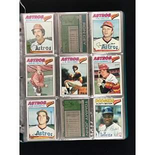 Over 360 1977 Topps Baseball Cards Estate Fresh