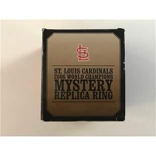 2006 St. Louis Cardinals World Series Replica Ring