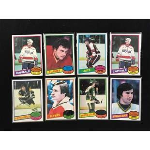 Over 500 1980/10981 Topps Hockey Cards