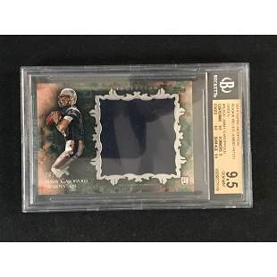 2014 Inception Jimmy Garoppolo Rookie Relic Bgs9.5