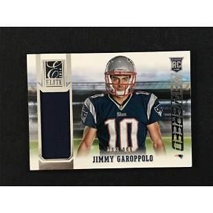 2014 Panini Jimmy Garoppolo Jersey Card 204/299