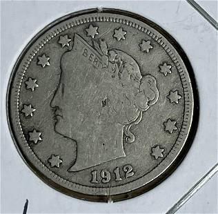 1912-s Liberty V Nickel