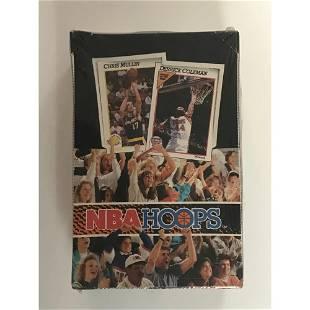 1991-92 Hoops Series 1 Sealed Wax Box