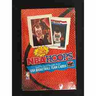 1991-92 Hoops Series 2 Sealed Wax Box